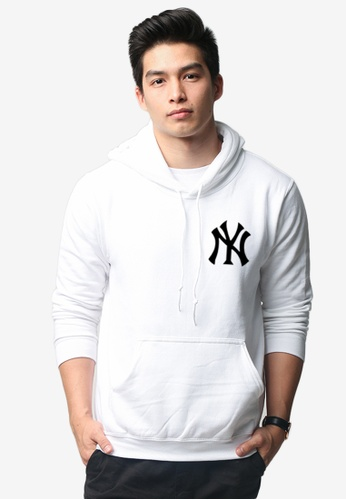 buy popular 8d365 9148d Yankees Hoodie Without Zipper