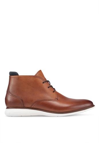 ALDO brown Chienia Chukka Boots 642BCSH21E96B8GS_1