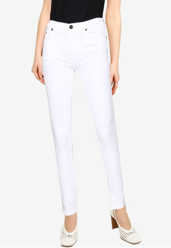 """French Connection white R Rebound 30"""" Skinny Jeans 4E704AA351A228GS_1"""