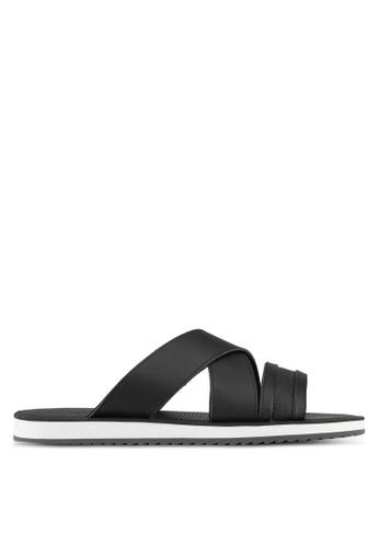 ALDO black Agreillan Sandals D12A3SH58FFA49GS_1