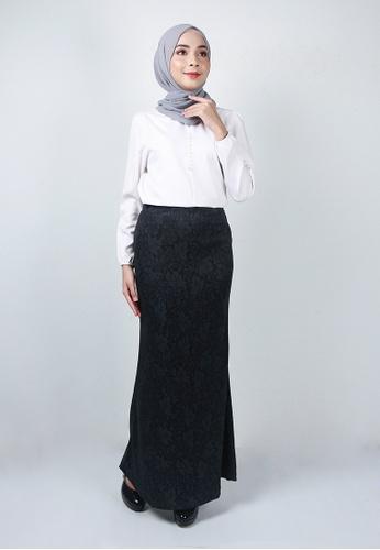 Ladies Jeans grey Precious Flower Printed Skirt EA32FAAB7CE732GS_1