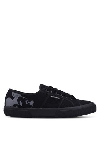 Superga black Efglu Sneakers B6031SH3986DA3GS_1