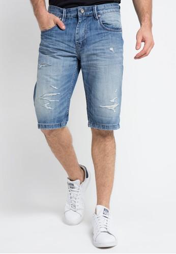 X8 blue Jamarion Shorts X8323AA0VOFJID_1