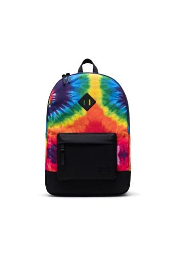 Herschel multi Herschel Heritage Backpack Rainbow Tie Dye - 21.5L 353A6ACA81266EGS_1
