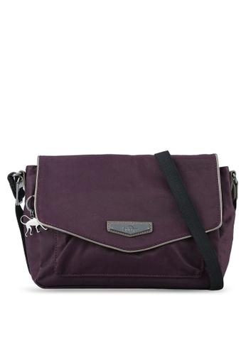 Kipling purple Kassandra Premium Sling Bag KI702AC0RN8YMY_1