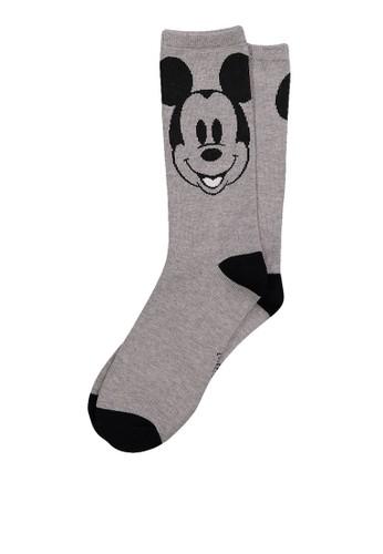 Typo grey Womens Novelty Socks CB302AACFF7A5EGS_1