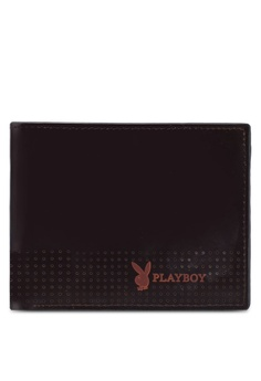 Playboy brown Bifold Wallet 5941CAC523A162GS_1