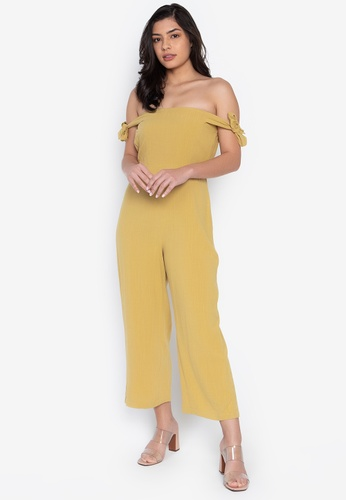 the___edit yellow Penelope Linen Jumpsuit FCCD8AAC547872GS_1