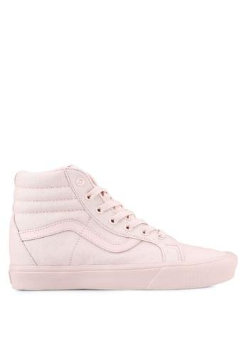 VANS pink SK8-HI Reissue Lite Sneakers VA142SH0RR1TMY_1