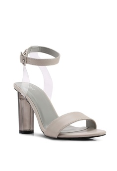 61917f1bb5c Nose High Lucite Heel Sandals RM 139.00. Available in several sizes