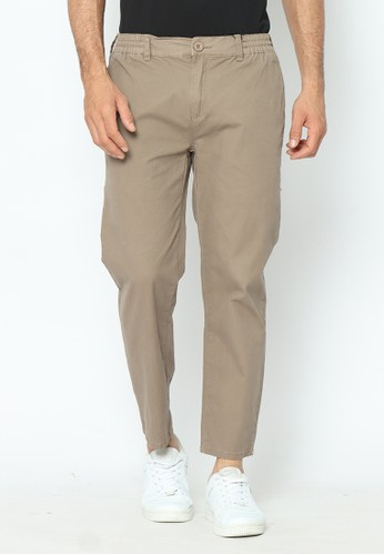 Planet Surf Clothing brown Planet Surf Clothing Ankle Pants Coklat Superfonh 08139AA2CCA74EGS_1