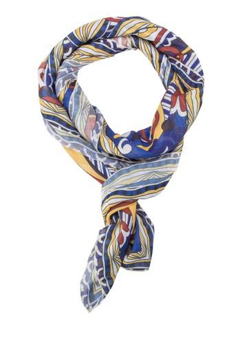 印花絲巾zalora 手錶 評價, 飾品配件, 披肩