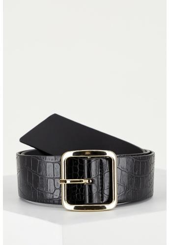 DeFacto black Woman Belt 046B6ACF189DCFGS_1