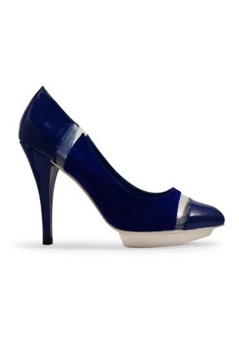 Gripz blue Peek Pointed Toe High Heels GR357SH54ILHSG_1