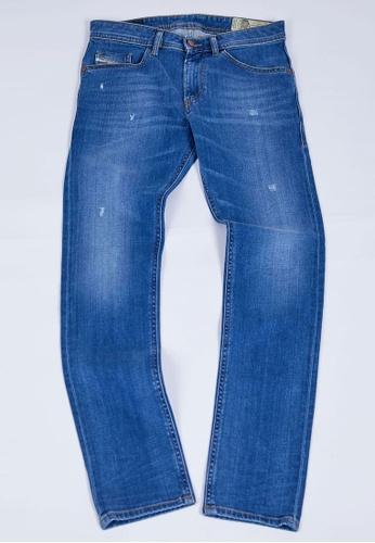 Diesel blue THOMMER L.32 PANTALONI Slim Fit Jeans 92F42AA5864E32GS_1