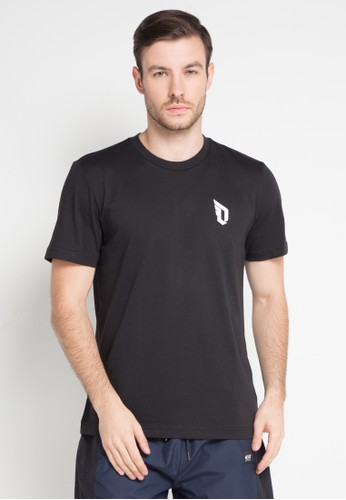 adidas black adidas dame logo tee AD678AA0KST7PH_1