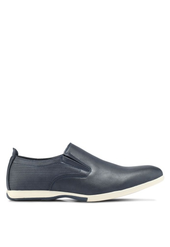 Bata blue Smart Casual Shoes CD602SH3AB50F2GS_1