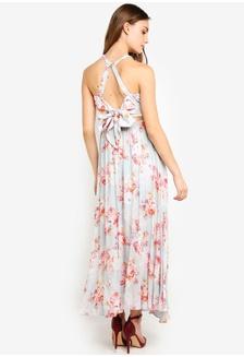 1832d7e852 Ava Printed Lace Spliced Maxi Dress E669FAAA9F4659GS_1