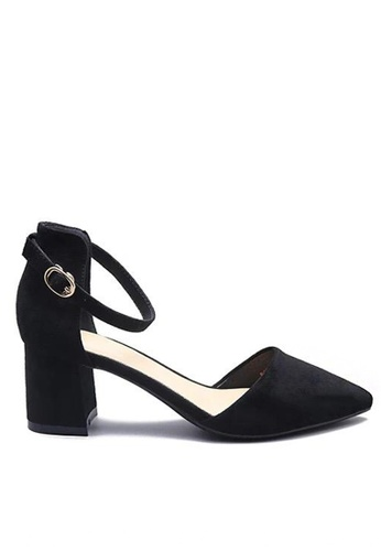 Twenty Eight Shoes 黑色 尖頭中踭鞋883-1 B7540SH868BE34GS_1