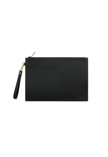 Knocks black Large Clutch Bag Black 4955BAC1A46FF1GS_1