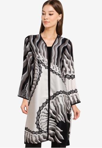 bhatara batik black and white Keisya Blazer 365D8AAED285AFGS_1