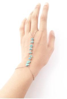 Daniela Turquoise Hand Chain