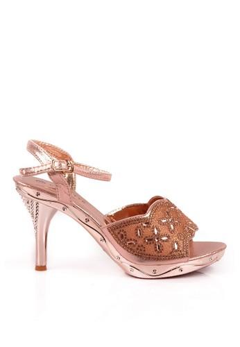 CLARETTE gold Clarette Heels Lorita Rose Gold CL076SH06QLPID_1