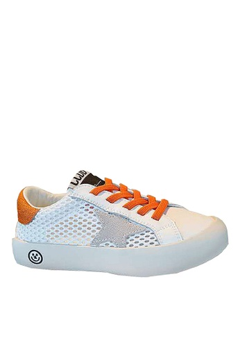 Twenty Eight Shoes orange VANSA  Leathers Luminous Sneakers VSK-T19919 DED0BKSE930292GS_1