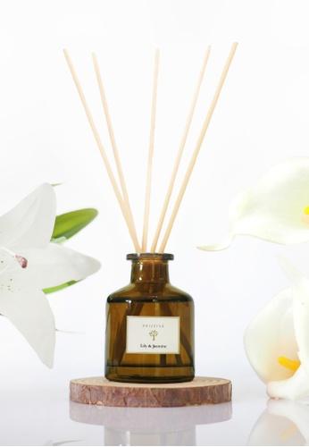 Pristine black Pristine Reed Diffuser - Lily&Jasmine - 50ml D7B33HL7D03C29GS_1