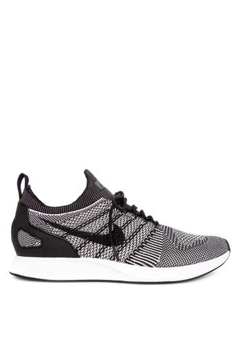 Nike black and grey Nike Air Zoom Mariah Flyknit Racer '18 Shoes 7CB39SHDA034FCGS_1