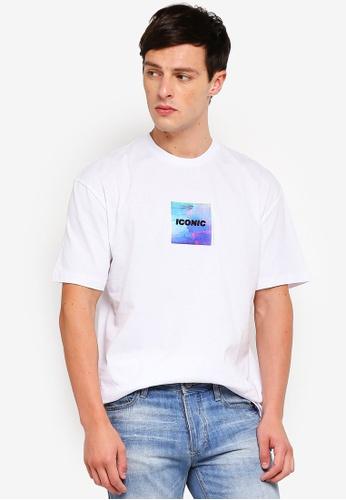 19b4a74f8e8 Buy Topman White  Iconic  T-Shirt Online on ZALORA Singapore
