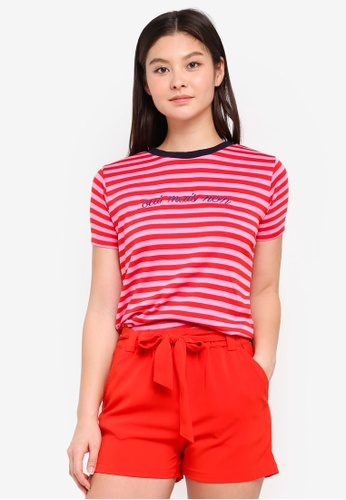 MbyM pink Oui Contrast Top 3F92CAA8F43968GS_1