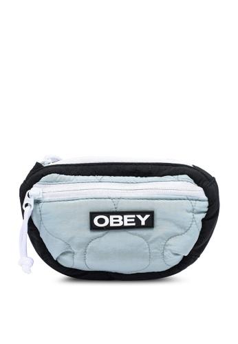 OBEY 黑色 Juniper Waistpack 39FF2AC51B0D63GS_1