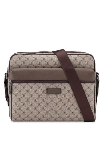 Playboy brown Faux Leather Sling Bag BD1D6AC2673525GS_1