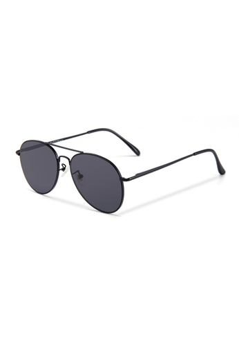 Quattrocento Eyewear Quattrocento Eyewear Italian Sunglasses with Black Lenses Model Colombo F4FD4GL72A644AGS_1