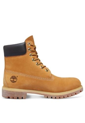 569d8ccf0986 Timberland brown Timberland Icon 6″Premium Boot Wheat Nubuck  0953ASH49B6B2DGS 1
