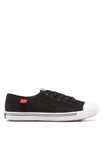 North Star black North Star Low Cut Sneakers 869C4SHB1B1F32GS_1