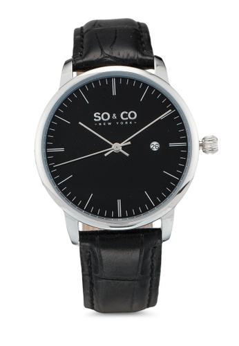 SO&CO black So&Co Watch 5521 BE546AC4D05DE8GS_1