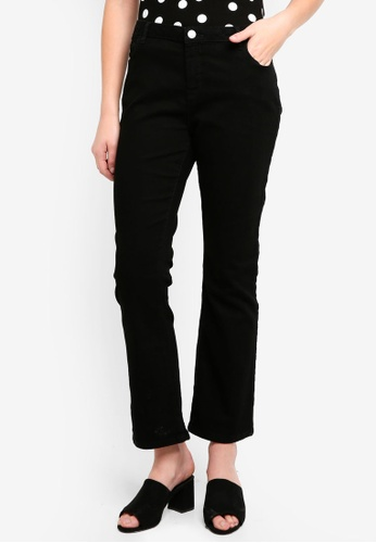 Dorothy Perkins black Black Ashley Bootcut Jeans E36DAAA6BC3367GS_1