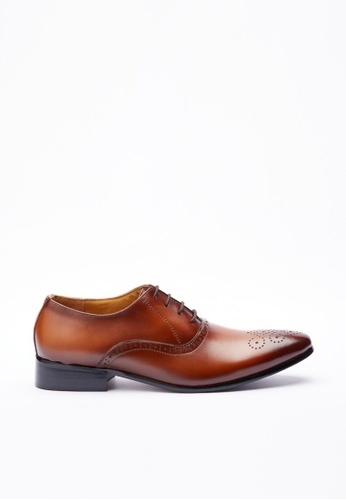Kings Collection brown Grimaldi Shoes KI358SH41DGKSG_1