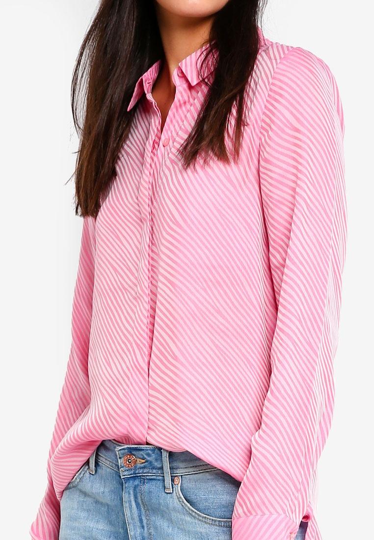 Aurora Pink ICHI Aurora Aurora Pink Shirt Shirt Close Close Close ICHI Shirt ICHI ICHI Pink 4vWOBnwfA