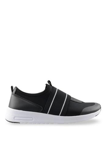 Footspot black Sprox - Slip-on Sneakers FO296SH21BCGHK_1