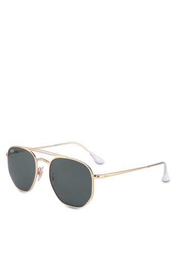 Ray-Ban 金色 Ray-Ban RB3609 Sunglasses E0C38GL3D1E4D4GS_1