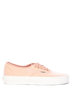 VANS pink Woven Check Authentic Sneakers E005ASH35DC56BGS 1 5b80a658c