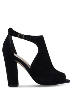 0376c099307 ALDO black Rienia Peep Toe Ankle Strap Block Heels 81FB8SH511A336GS 1
