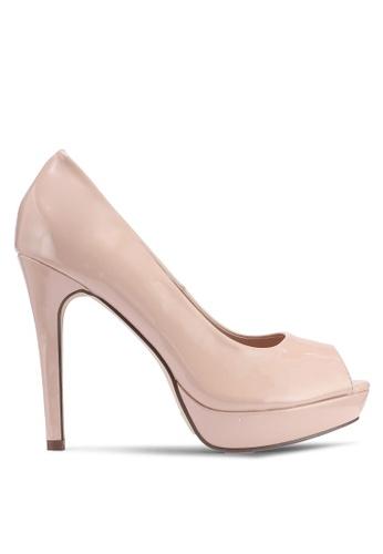 507d036b091a Carlton London beige Patent Heels 94E10SH010D493GS 1