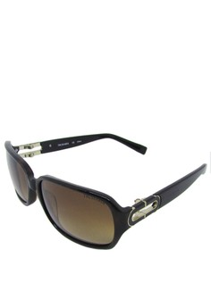 db09a26ffa37 Trussardi brown Trussardi rectangle sunglass - 12845 - 57 - Havana  00C68GL5679425GS 1