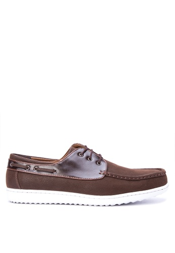 Italianos brown Ollie Loafers IT153SH0KJ1GPH_1