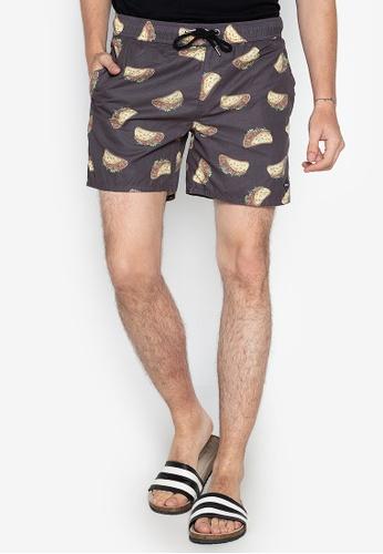 472079bd8253c Shop Chase Fashion Taco Print Pull String Swim Shorts Online on ZALORA  Philippines