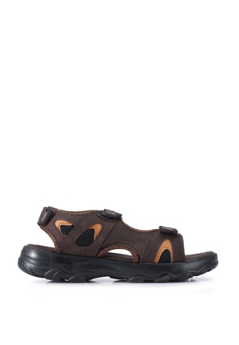 Louis Cuppers brown Casual Sandals ED0C6SH852E4D2GS_1